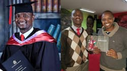 Cop who joined police force after Form Four graduates with master's degree