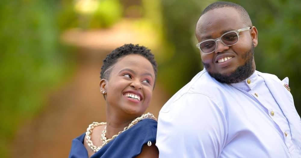 Kenyan Gospel Dj Mzito, Wife Arrive at Their Wedding Reception in Fly Nairobi Matatu