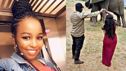 Saumu Mbuvi's mum encourages her as she deals with painful breakup