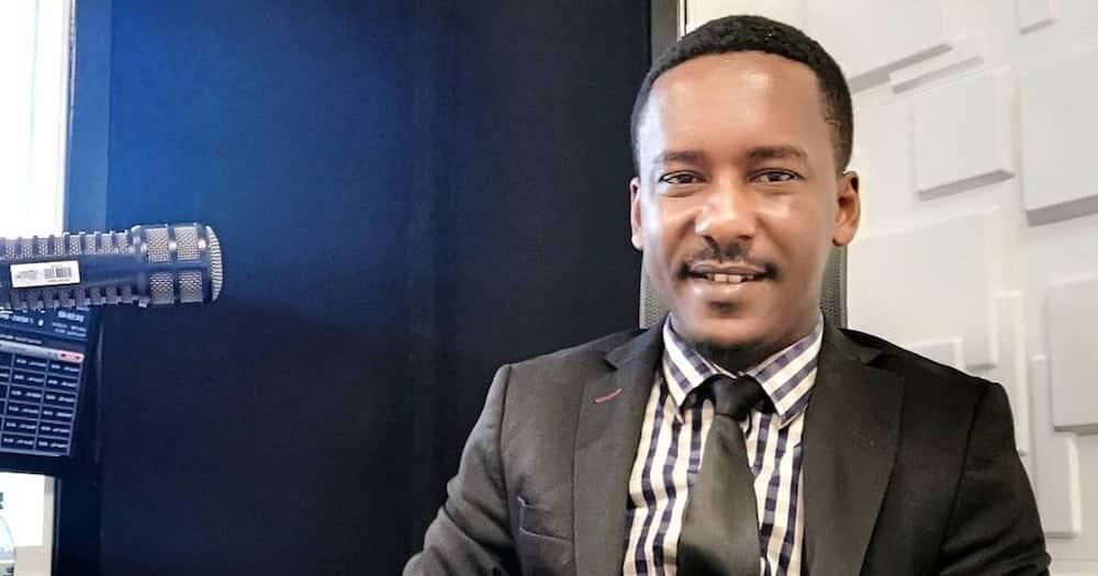 Maina Kagina wishes his colleague Mike Mondo on his birthday.