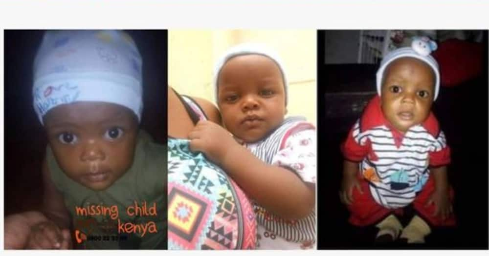 The baby was found in Kisumu.