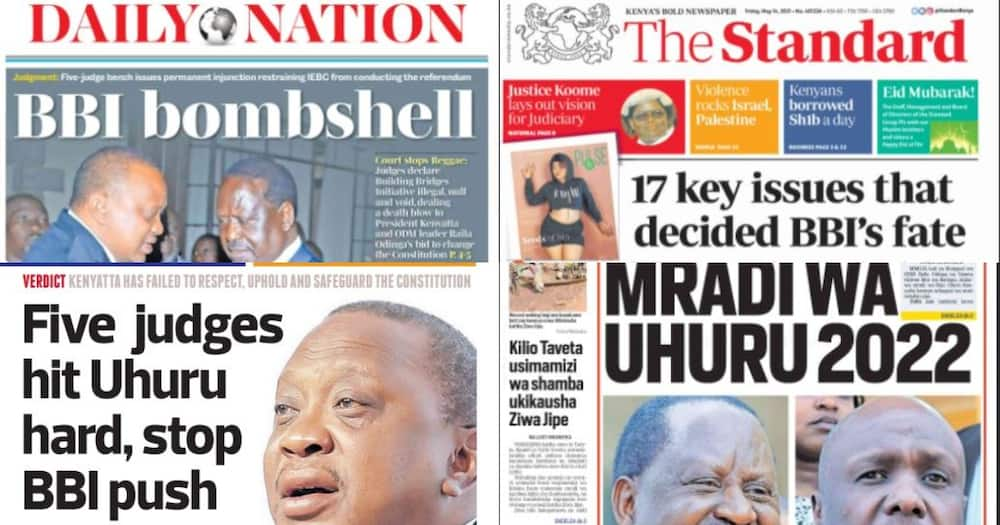 Kenyan Newspapers Review: List of 10 Nyanza Leaders Who Attended Economic Forum with Ruto's Team on Thursday