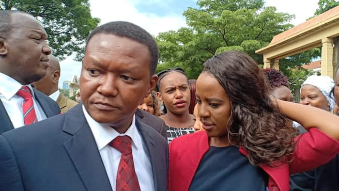 Governor Alfred Mutua Showers Wife Lilian with Praises as She Turns a Year Older
