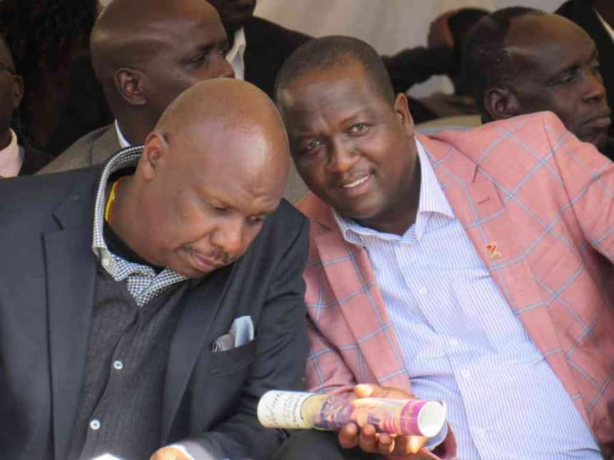 Gideon Moi's ally defends Murathe, tells Ruto team to accept there's no 2022 succession MOU