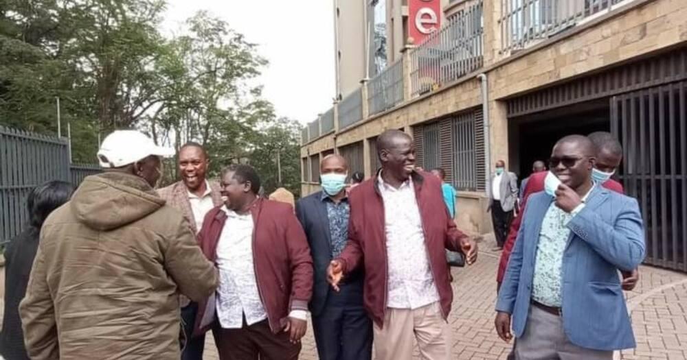Ni kitu kidogo sana: Raphael Tuju asema kuhusu tofauti zilizoko kati ya Rais Uhuru na DP Ruto