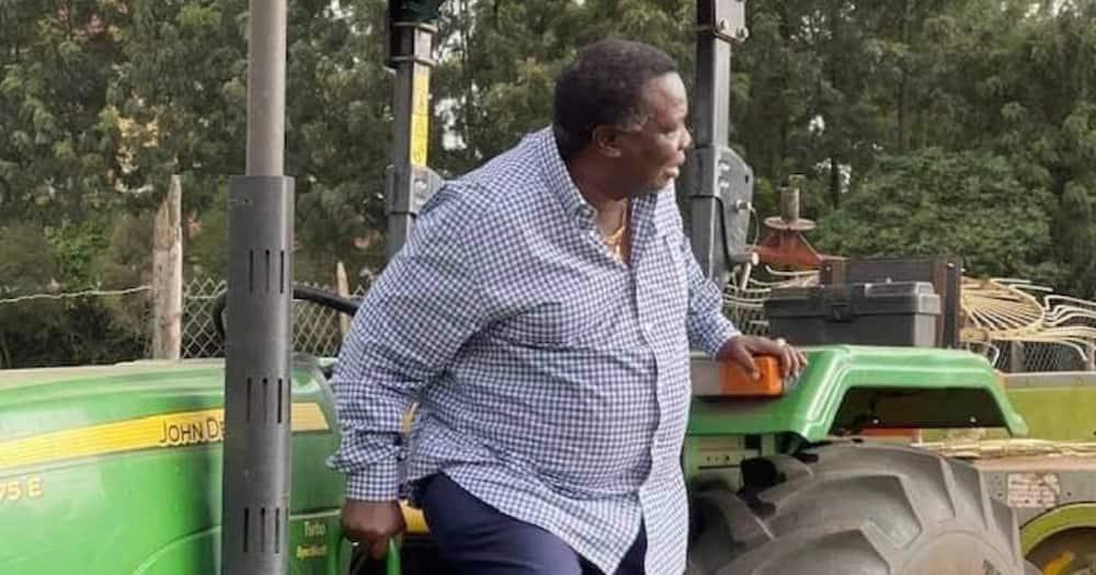 Francis Atwoli says he's preparing to retire during tour to his Nakuru farm