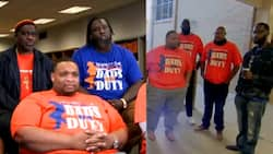 40 Dads Take Shifts Greeting Students in School to Create Positive Environment for Them