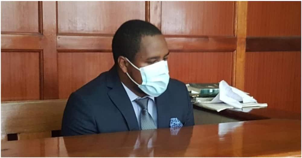 City businessman Dickson Njanja Mararo