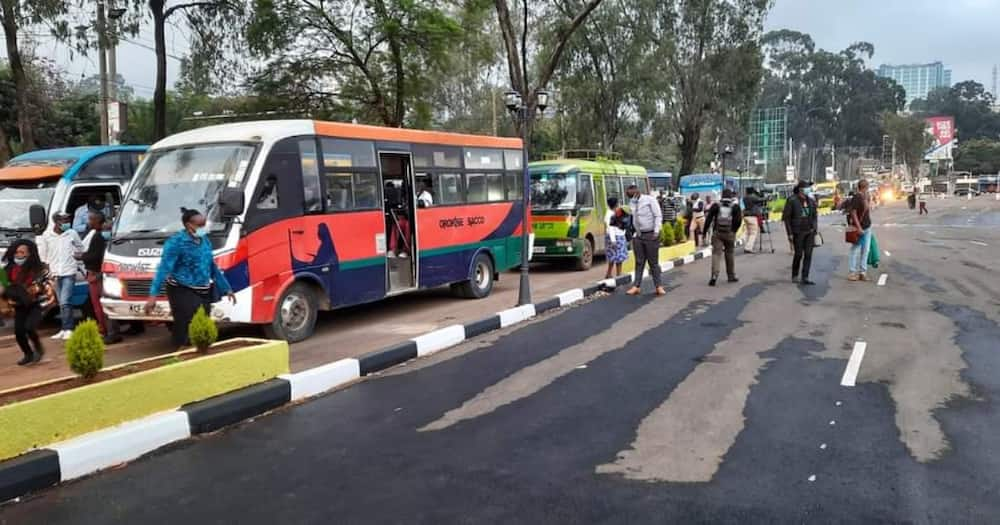Green Park: NMS Conducts Test Run of New Bus Terminal Built to Decongest CBD