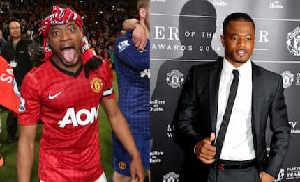 Ex-Man United star Patrice Evra's sanity questioned after posting bizarre video romancing raw chicken