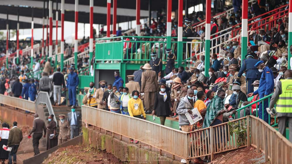 Mashujaa Day 2020: Tight security as Kenyans troop to Gusii Stadium for celebrations