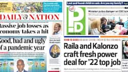Kenyan Newspapers Review for September 10: Raila, Kalonzo Crafting New Power Sharing Deal Behind Scenes