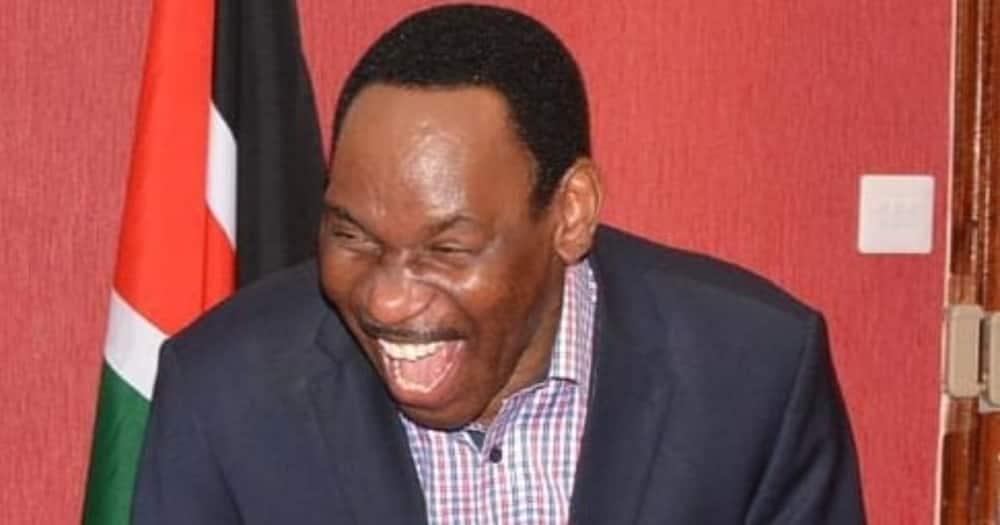 Moral police Ezekiel Mutua hilariously teaches Kenyans how to pronounce Kamala Harris