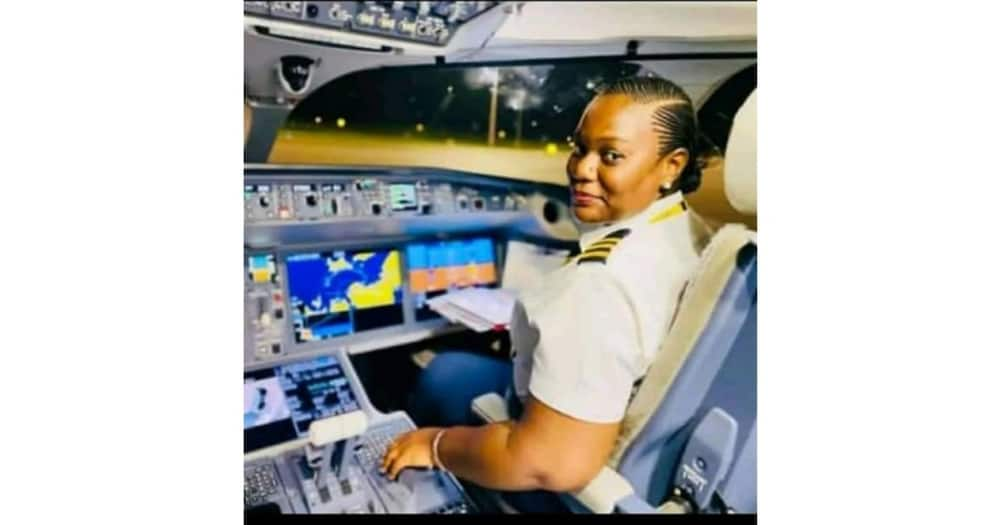 Breathtaking Photos of the Pilot Who Flew Magufuli's Body From Dar es Salaam to Dodoma