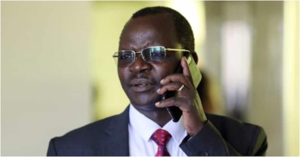 West-Pokot Governor John Lonyangapuo. Photo: John Lonyangapuo