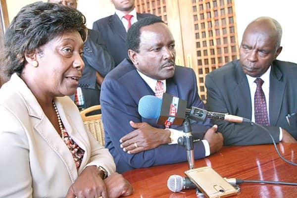 Kivutha Kibwana differs with Kalonzo Musyoka's over unity deal with Uhuru