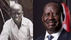"""Raila Odinga Excites Kenyans with Throwback Photo of Himself: """"Baba You've Seen it All"""""""