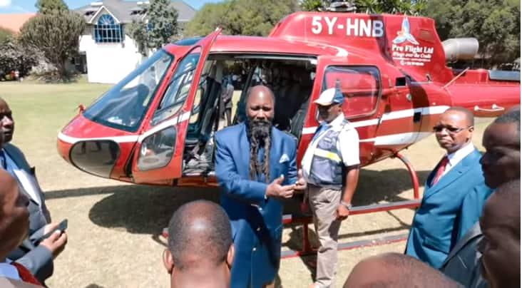 Nabii Uwuor ajivuna akisema Uhuru alimpangishia helikopta kumsafirisha kutoka Nakuru hadi Nairobi