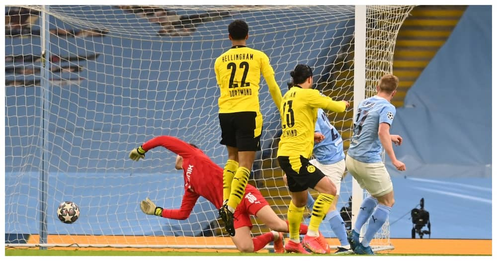 Manchester City snatch dramatic late winner to edge Dortmund in thrilling Champions League tie