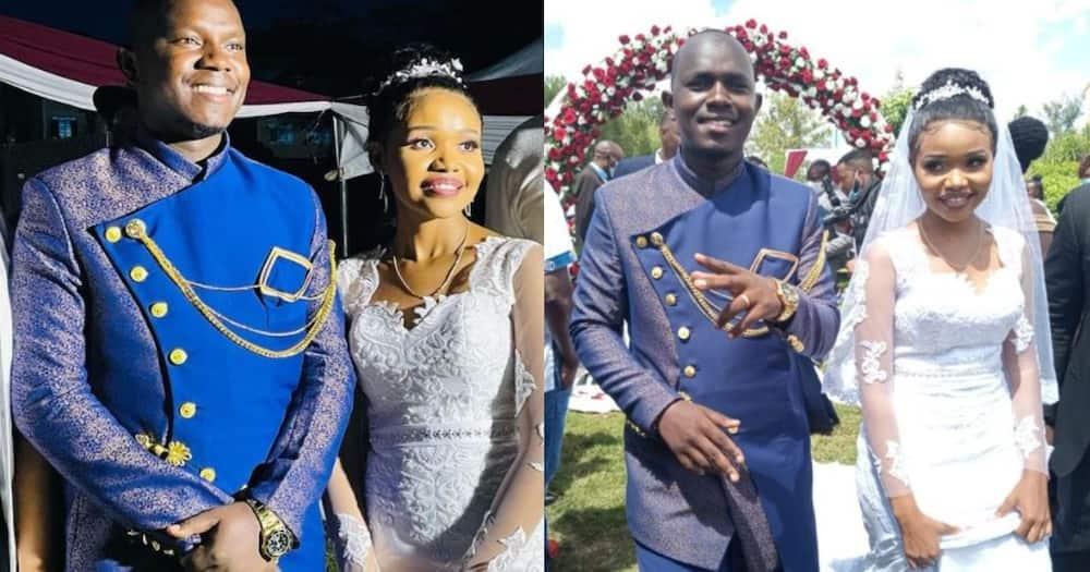 Gukena FM presenter MC Jimmie Kajim gets married to longtime sweetheart