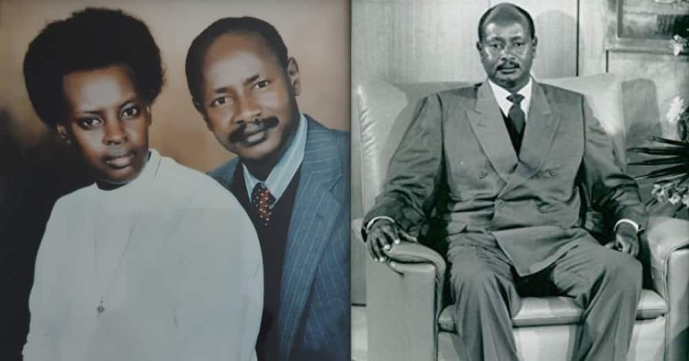 Mke wa Rais Museveni apakia picha yao wakiwa vinjana