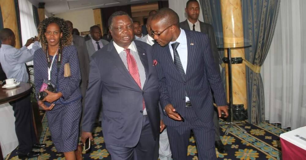 Bungoma businessman Moses Nandalwe wants Uhuru to erect Atwoli's statue in CBD