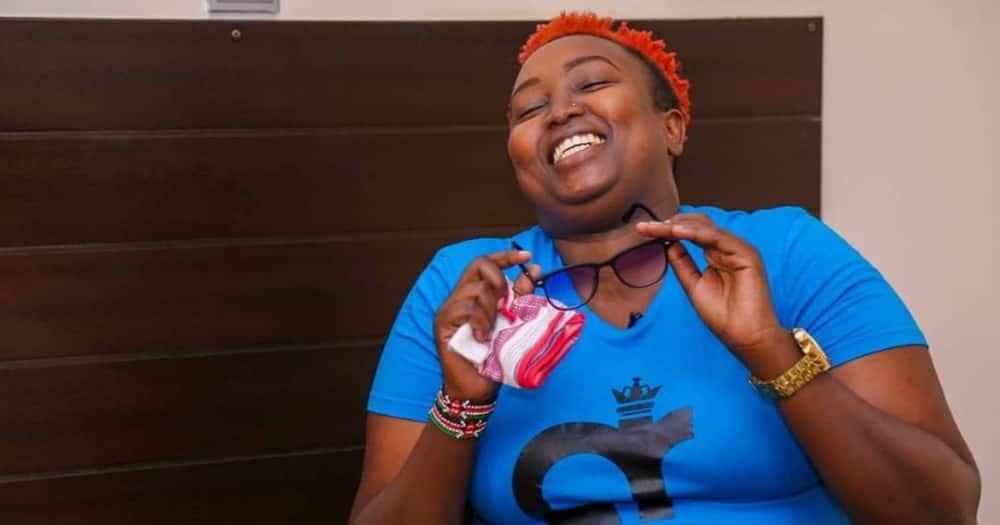 Radio presenter Annitah Raey says she rebukes the spirit of being admired by broke men