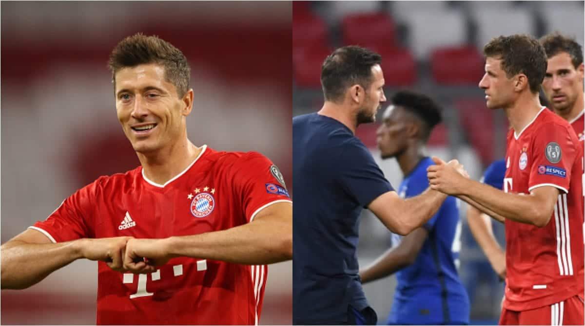 Bayern Munich vs Chelsea: Lewandowski shines as Bavarians humble Blues 7-1