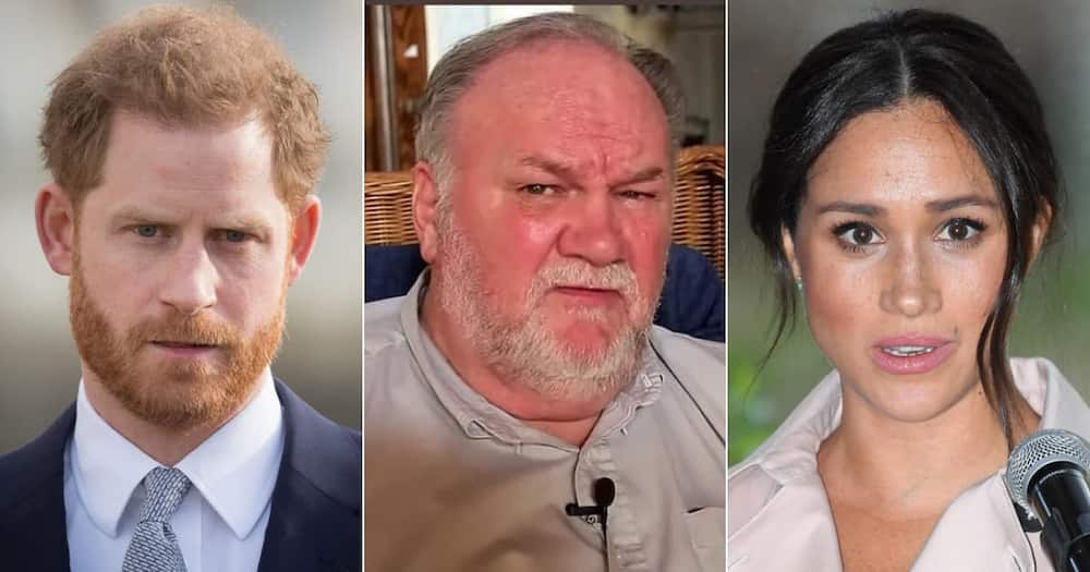 Thomas Markle said Prince Harry did not ask for his daughter's hand in marriage.