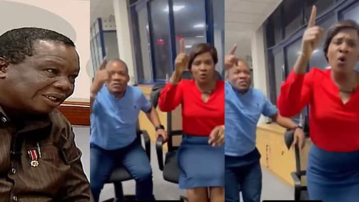 "Mary Kilobi Amuiga Mumewe Atwoli Katika Video ya Kuchekesha ""In Whose Hands"""