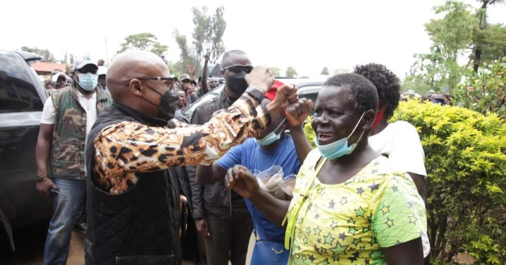Jimmy Wanjigi day two of the Nyanza tour continued in Migori county.