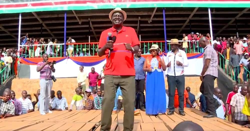Reggae Music Again: Jamaican singer Busy Signal grateful after Raila said he listens to his song