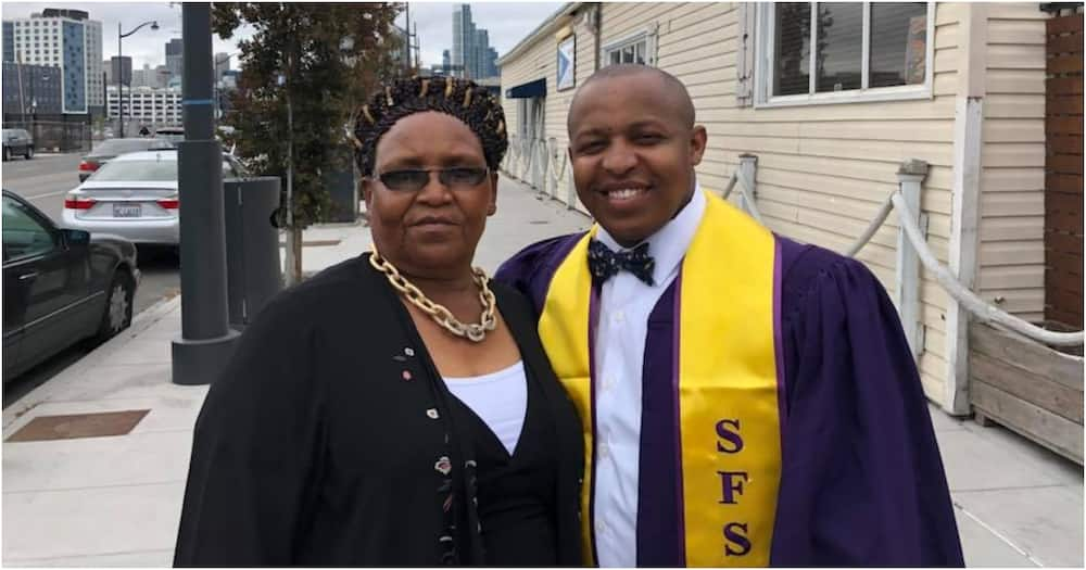Mwangi Mukami: Kenyan man who scored D+ in KCSE earns his 5th degree in US