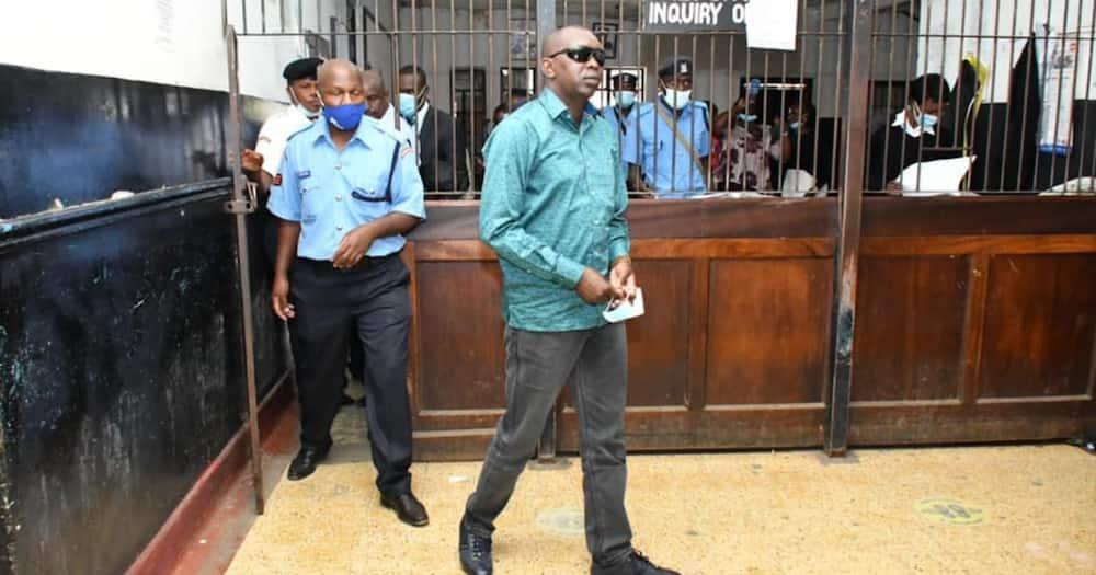 Oscar Sudi aachiliwa huru kwa dhamana ya KSh 500k, akatazwa kufanya mikutano
