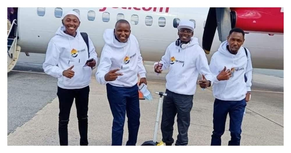 Omosh: Former Tahidi High actor flies to Diani for well-deserved holiday