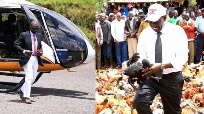 List of Choppers Owned by William Ruto and Their Prices