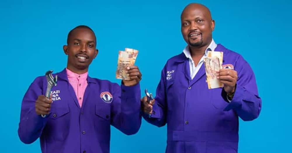 CCK candidate Milton Mwenda (left) was disqualified by IEBC.