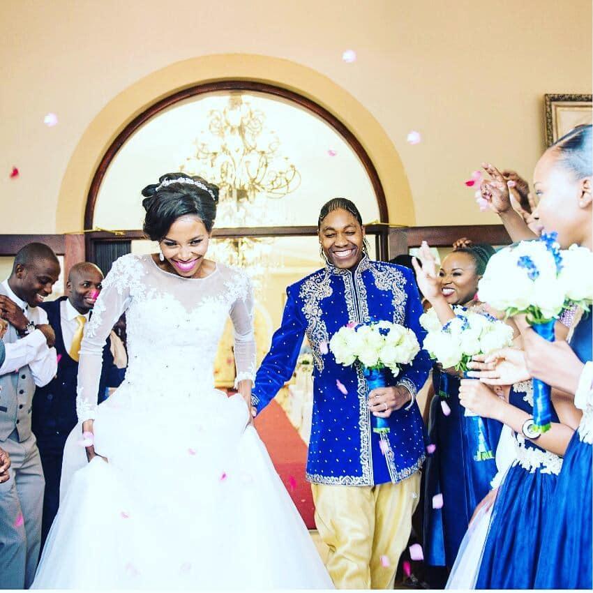 Caster Semenya's wife Violet Raseboya