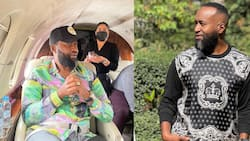 """Hassan Joho Shares TBT Photo of Himself Posing without Shoes: """"Alhamdulillah"""""""