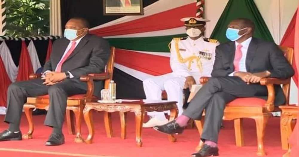 "Kenyans say Uhuru, Ruto bromance during Madaraka Day celebrations was publicity stunt: ""We can't be fooled"""