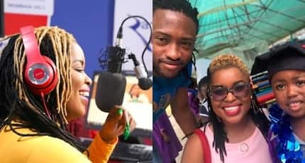 First ever photo of radio personality Mwende wa Macharia with baby daddy Jblessing excites fans online
