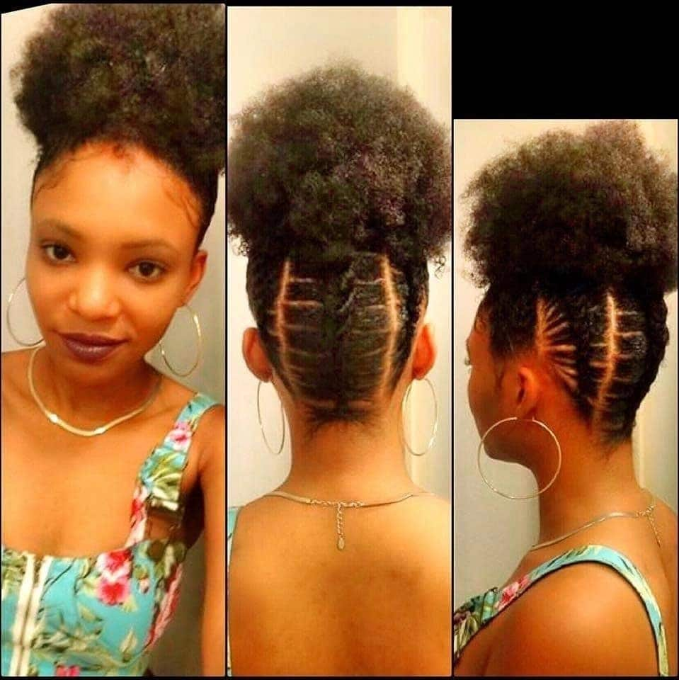trendy afro kinky hairstyles