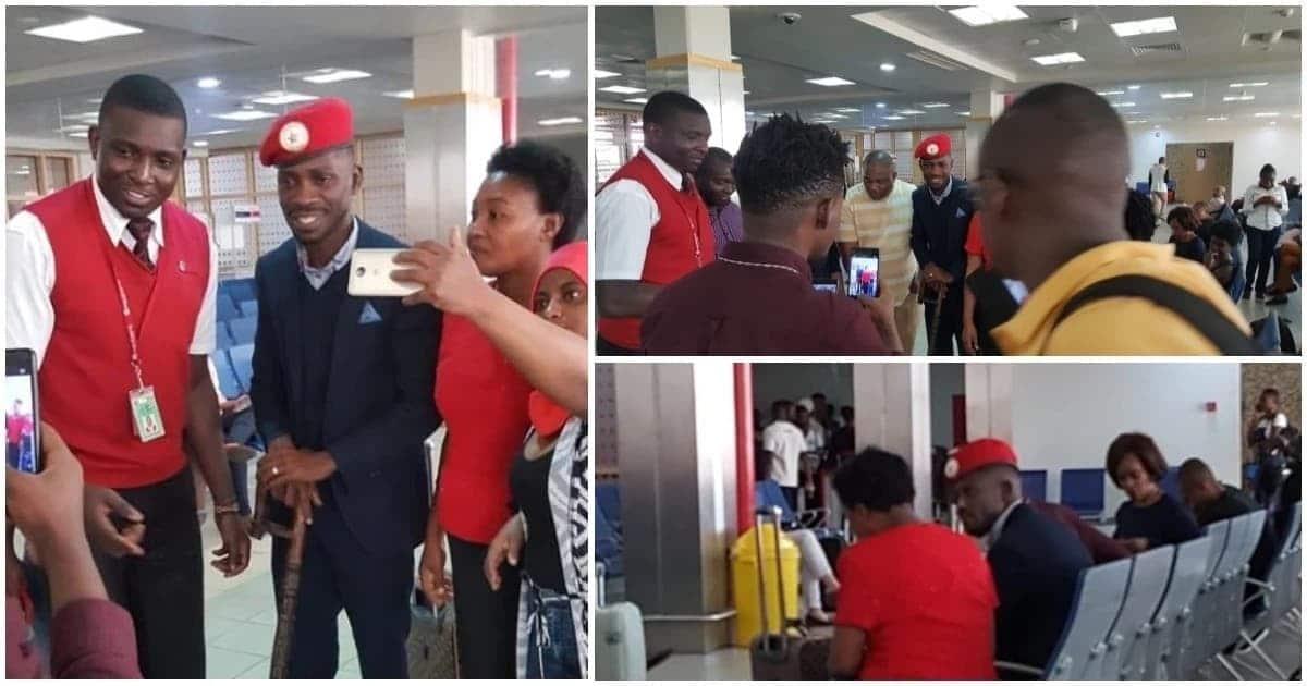 Bobi Wine akamatwa tena mara baada ya kutua Uganda akitokea Marekani