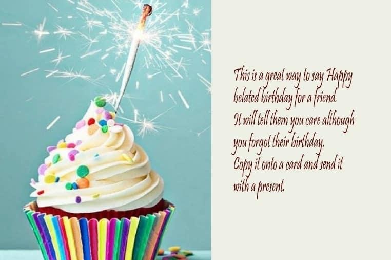 Happy belated birthday quotes Happy belated birthday images belated birthday quotes and sayings
