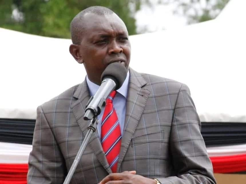 Kapseret MP Oscar Sudi tells farmers to leave him out of troubles facing maize production
