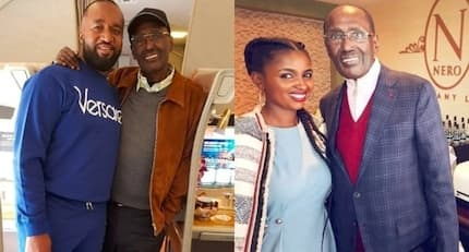 Billionaire Chris Kirubi steps out looking healthy after treatment in US and Kenyans are super excited