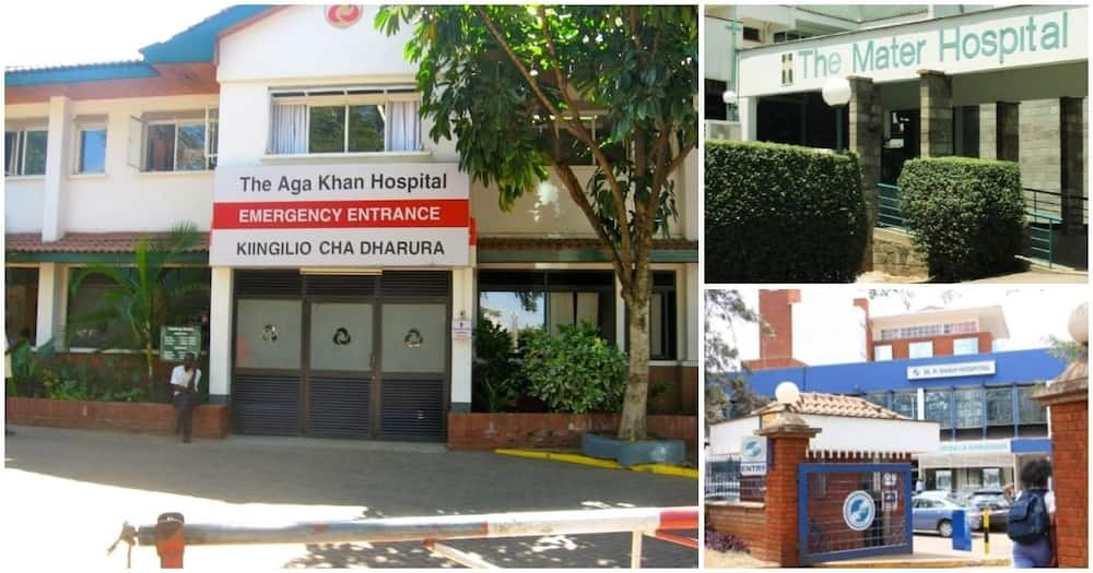 10 most expensive hospital to give birth in Kenya according to new 2018 market data