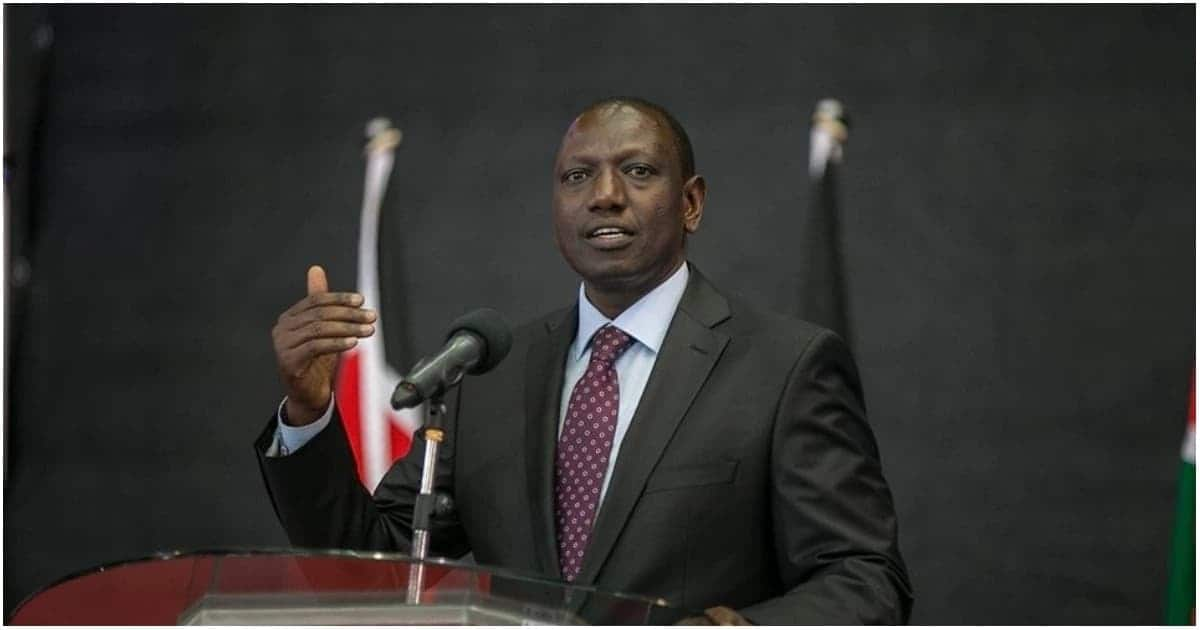 Deputy President William Ruto.