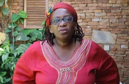 Controversial female Ugandan professor describes her genital as huge, offers it to Kenyan men