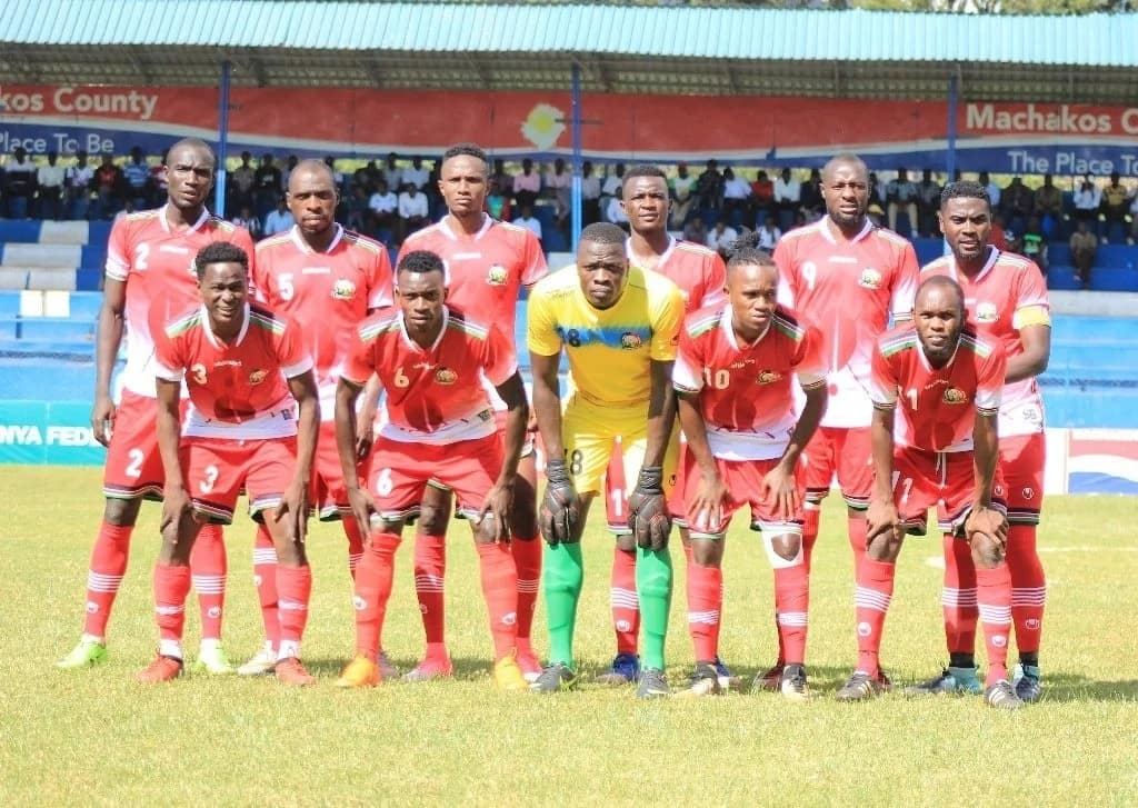 Harambee Stars ranked 10th in Africa and top in the region by France Football